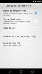 Sony Xperia M2 - Mensajería - Configurar el equipo para mensajes multimedia - Paso 6