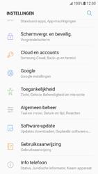 Samsung Galaxy J5 (2016) - Android Nougat - Instellingen aanpassen - Fabrieksinstellingen terugzetten - Stap 4