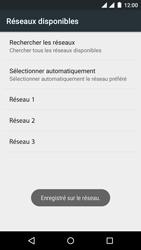 Wiko Rainbow Jam - Dual SIM - Réseau - Sélection manuelle du réseau - Étape 11