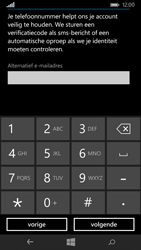 Nokia Lumia 735 4G (Type RM-1038) - Applicaties - Account aanmaken - Stap 19