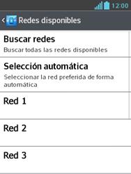 LG Optimus L3 II - Red - Seleccionar una red - Paso 8