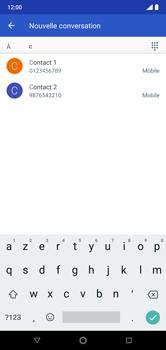 Nokia 7.1 - Contact, Appels, SMS/MMS - Envoyer un MMS - Étape 6
