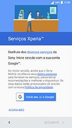 Sony Xperia XA (F3111) - Primeiros passos - Como ligar o telemóvel pela primeira vez -  13