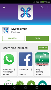 Huawei Mate S - Applications - MyProximus - Step 8