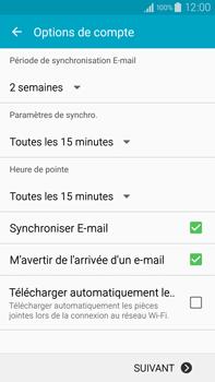 Samsung Galaxy Note 4 - E-mails - Ajouter ou modifier votre compte Yahoo - Étape 7