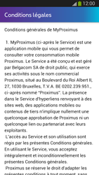Samsung I9300 Galaxy S III - Applications - MyProximus - Étape 12