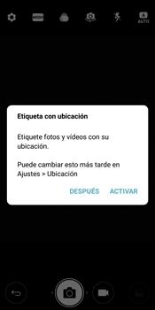 LG Q6 - Funciones básicas - Uso de la camára - Paso 3