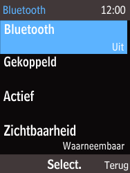 Nokia 225 (Type RM-1012) - Bluetooth - Headset, carkit verbinding - Stap 6