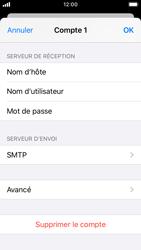 Apple iPhone SE - iOS 13 - E-mail - Configuration manuelle - Étape 16