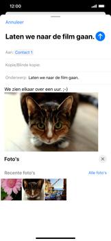 Apple iphone-11-model-a2221 - E-mail - Hoe te versturen - Stap 15