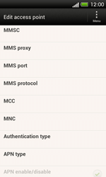 HTC C525u One SV - MMS - Manual configuration - Step 12