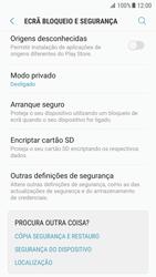 Samsung Galaxy S7 - Android Nougat - Segurança - Como ativar o código PIN do cartão de telemóvel -  5