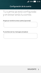Huawei Y5 - E-mail - Configurar correo electrónico - Paso 21