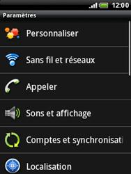 HTC A3333 Wildfire - Internet - Configuration manuelle - Étape 4