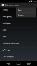 Google Nexus 5 - Mms - Manual configuration - Step 15