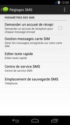 Acer Liquid Jade Z - SMS - Configuration manuelle - Étape 7
