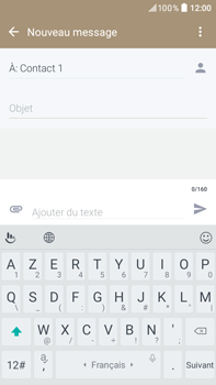 HTC Desire 825 - Contact, Appels, SMS/MMS - Envoyer un MMS - Étape 11