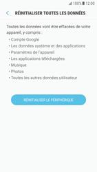 Samsung G920F Galaxy S6 - Android Nougat - Appareil - Réinitialisation de la configuration d