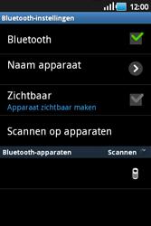 Samsung S5660 Galaxy Gio - Bluetooth - Headset, carkit verbinding - Stap 7