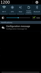 Samsung N7100 Galaxy Note II - MMS - Automatic configuration - Step 4