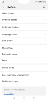 Huawei P20 Pro Android Pie - Device - Software update - Step 5