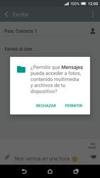 HTC One A9 - Mensajería - Escribir y enviar un mensaje multimedia - Paso 14