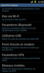 Samsung I9070 Galaxy S Advance - Internet - configuration manuelle - Étape 6
