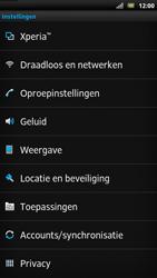 Sony LT22i Xperia P - Internet - Handmatig instellen - Stap 3