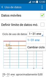 Samsung Galaxy Core Prime - Internet - Ver uso de datos - Paso 6
