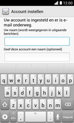 Huawei Ascend Y330 - E-mail - Account instellen (POP3 zonder SMTP-verificatie) - Stap 19