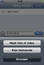 Apple iPhone 4 - MMS - hoe te versturen - Stap 7