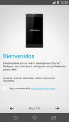 Sony Xperia Z1 - Primeros pasos - Activar el equipo - Paso 4
