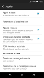 HTC Desire 626 - Messagerie vocale - Configuration manuelle - Étape 5