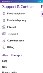 Nokia Lumia 635 - Applications - MyProximus - Step 22