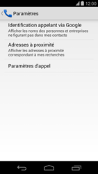 LG D821 Google Nexus 5 - Messagerie vocale - configuration manuelle - Étape 7