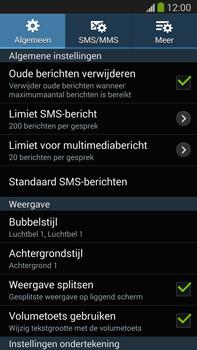 Samsung N9005 Galaxy Note III LTE - SMS - Handmatig instellen - Stap 6