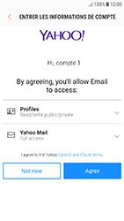 Samsung Galaxy J5 (2017) - E-mails - Ajouter ou modifier votre compte Yahoo - Étape 10