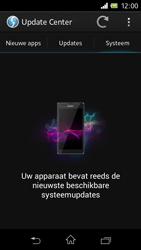 Sony C1905 Xperia M - Software update - update installeren zonder PC - Stap 7