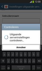 Samsung Galaxy S3 Mini VE (I8200N) - E-mail - Account instellen (IMAP met SMTP-verificatie) - Stap 16