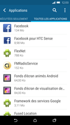 HTC One M9 - Applications - Supprimer une application - Étape 5