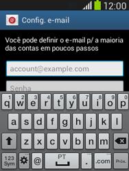 Samsung S5310B Galaxy Pocket Neo - Email - Como configurar seu celular para receber e enviar e-mails - Etapa 5