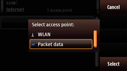 Nokia N97 Mini - Internet - Manual configuration - Step 9