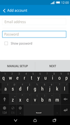 HTC One M8 - E-mail - Manual configuration - Step 7