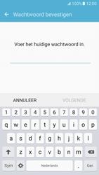 Samsung Galaxy S7 - Beveiliging en ouderlijk toezicht - Toegangscode aanpassen - Stap 6
