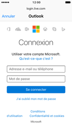 Apple iPhone SE - iOS 10 - E-mail - Configuration manuelle (outlook) - Étape 6