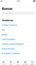 Apple iPhone iOS 11 - Aplicativos - Como baixar aplicativos - Etapa 8