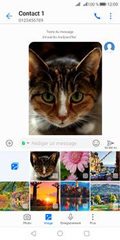 Huawei Mate 10 Pro - Contact, Appels, SMS/MMS - Envoyer un MMS - Étape 20