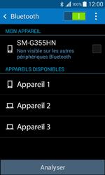 Samsung G355 Galaxy Core 2 - Bluetooth - connexion Bluetooth - Étape 8