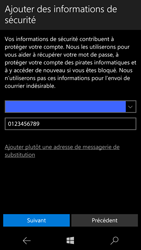 Microsoft Lumia 950 - Applications - Créer un compte - Étape 14