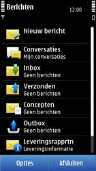 Nokia C7-00 - SMS - handmatig instellen - Stap 4